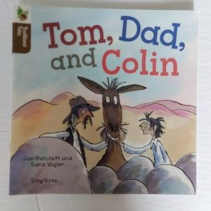 4/10 Tom, Dad and Colin kids book